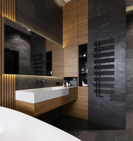Мебель для ванной в современном стиле