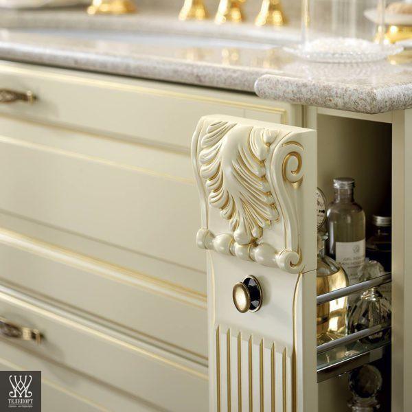 Итальянская классическая мебель для кухни