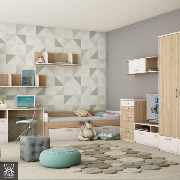 Мебель для детской в современном стиле