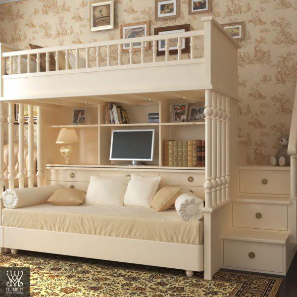 Классическая мебель для детской