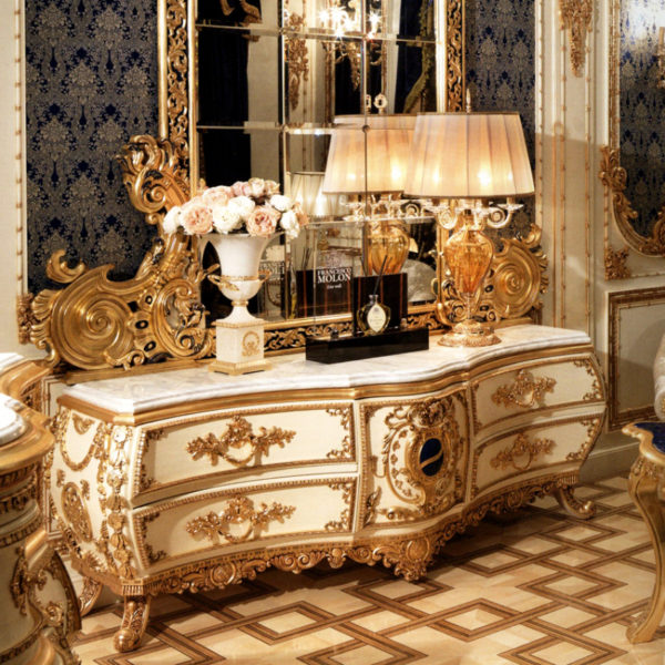 Итальянская классическая мебель для гостиной