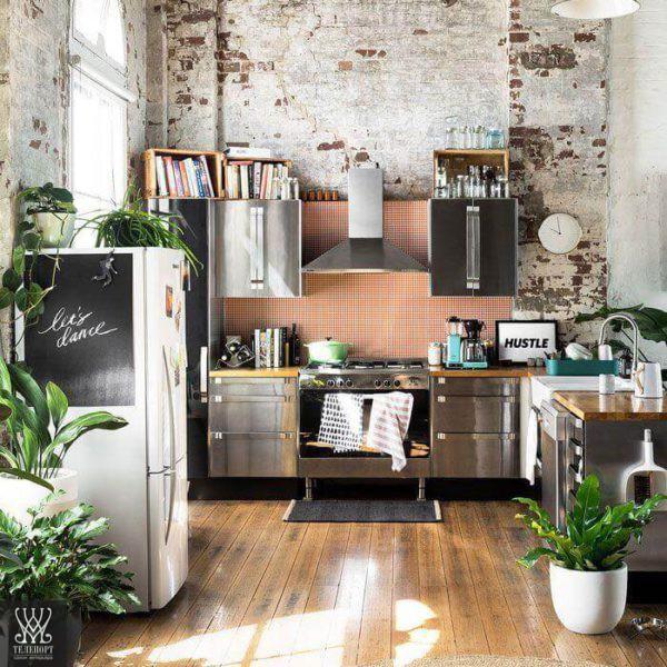 Итальянская мебель в стиле лофт для кухни
