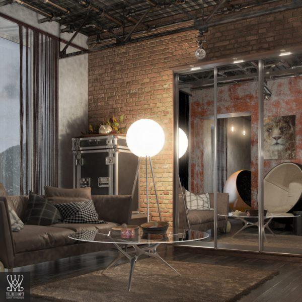 Итальянская мебель в стиле лофт
