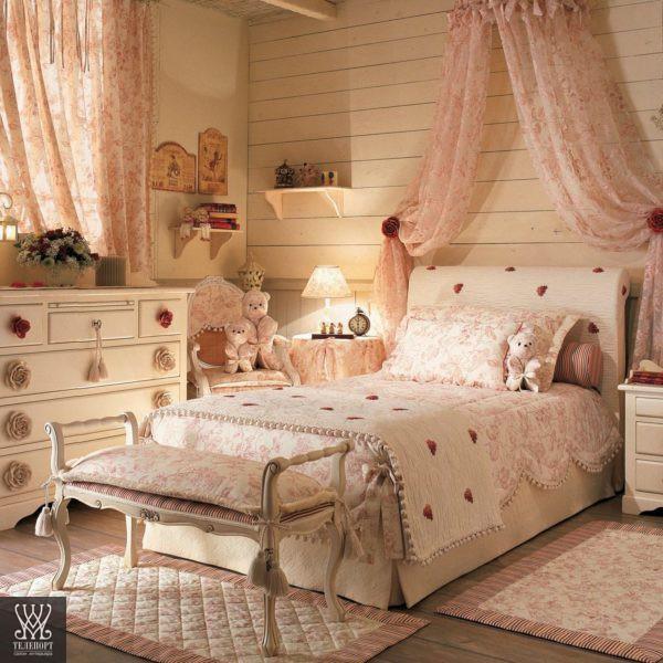 Итальянская классическая мебель для детской